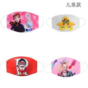 Tuch Facemasks Kinder Ski Balaclava Mask Baumwolle Gesicht Mund-Maske Cartoon Jugend Kinder Masken für Kid Coto Mascarilla Bwkf Ylyzv