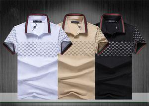 2020Fashion designer Fashion Spring and Autumn Sport casual men's polo shirts Sportswear premium brand fêndí men's polo shirts
