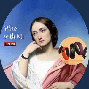 Im Lager Original-Xiaomi Mi Band 4 Smart Miband 3-Farben-Schirm-Armband Herzfrequenz Fitness Musik Bluetooth 50m Wasserdicht Band4