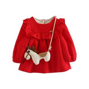 Children's fluffy coat coat Winter comfortable princess skirt baby girl skirt Not easy pilling cotton is of good quality