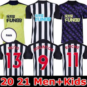KIDS KIT 20 21 RITCHIE FUSSBALL JERSEYS HOME weg dritt UNITED JOELINTO 2020 2021 Haus LASCELLES Shelvey FOOTBALL YEDLIN Shirts Männer Newcastle
