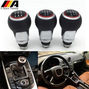 12mm 5/6 Vitesse POMMEAU Levier Stick pour Audi A4 B6 B7 B8 A6 S4 8K A5 8T Q5 8R S Line Ibiza 6J Seat Leon Mk1 Passat Golf