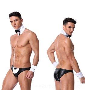 yGtWx Yao xintian yeni erkek seksi uşak Üniforma gece kulübü DS rugan üç noktalı erkekler takım elbise Bar Bar