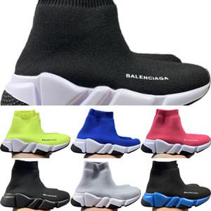 Speed 2020 zapatos para caminar Niños Stretch Knit-top respirable calcetín deportivo Botas Originales velocidad Kid tope de goma