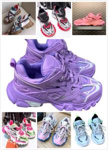 Dolce&Gabbana Dolce Gabbana Shoes Женщины Track2 шнуровке повелительница бег трусцой кроссовки Тройной Пешеходные Chaussures 36-39Casual Shoes2020 Track 2 Кроссовки 19FW белый