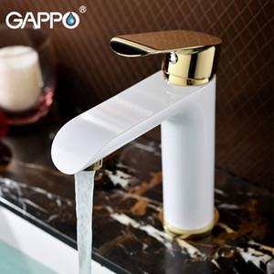 Gappo bacino rubinetto miscelatore lavabo dorato rubinetti vasca bagno rubinetto Rubinetto miscelatore acqua cascata ponte rubinetto montato rubinetti