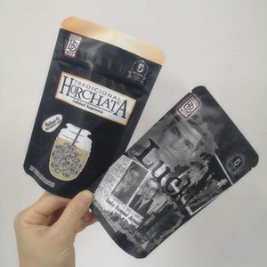 New Arrival 3.5g Mylar Bags LUCKY bags BACKPACK BOYZ Horchata Lucky Childproof Bags 420 Dry Herb Flower Packaging