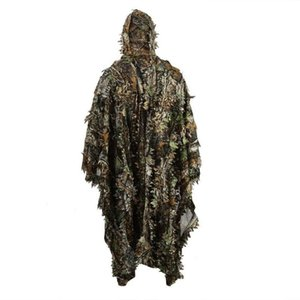 Cloak Dress Hunting Clothes 3D Ghillie Yowie Sniper Birdwatch Camouflage Clothing Jacket