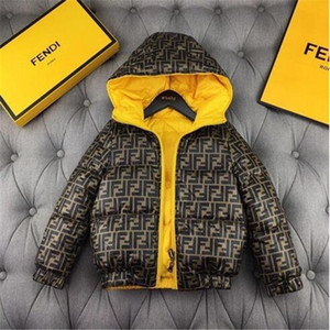 moda ceket giymek çocuk Tasarımcı ceket Tut ılık kış ceket Dış Giyim Hoodie Down Coat İçeride ve dışarıda