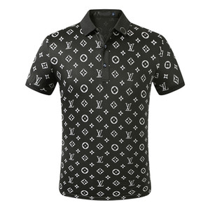 Commercio all'ingrosso di lusso della Cotton Polo Uomini High Street Fashion piccola ape polo di stampa Mens Desginer polo di marca t-shirt SS629