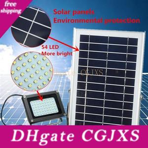 3528 Smd Sloar Панели питание 54 Led Sloar свет Прожектор безопасности Открытого Lighing Garden Street Путь лампа Водонепроницаемый IP65 Lamp