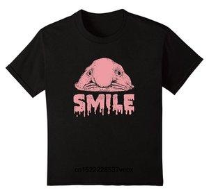 Blobfish Gülümseme Komik Balık Tişört