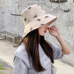 Lady Women Cap Fashion Stingy Brim Hats with Print Pattern Breathable Casual Fitted Beach Hats with letters Optional High Quality2