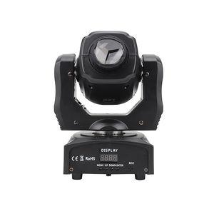 60W Mini LED Spot Spot Head Light / 60W LED GOBO Light / Super Bright LED DJ Spot Light / DMX 60W Patterns Discoteca