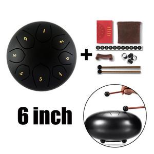 6 İnç Çelik Dil Davul El Pan Acemi Yetişkin Kid için Drum W / Çanta Tokmaklar
