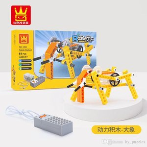 new chlidren Intelligence toys animal Mechanics Building block splicing boys toys Intellectual development office decoration KAWS toy