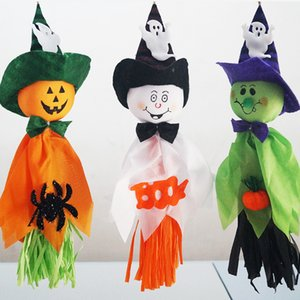New decoration bar haunted House decoration cloth art indoor holiday decorations with Halloween props moppet ghost decorations ZY1118