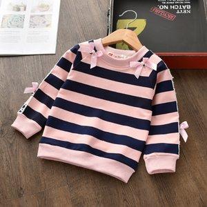 BibiCola девочек, свитера осень детские толстовки рубашки случайные свитер одежды девушки зимы топы детям рождественские свитера LJ200812