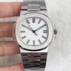 PATEK PHILIPPE 9 estilo de moda de alta qualidade GMT clássico relógio 40mm PP Nautilus 5711 / 1A 010 homens transparentes de Men Mecânica Automatic Mens Watc Wvld #