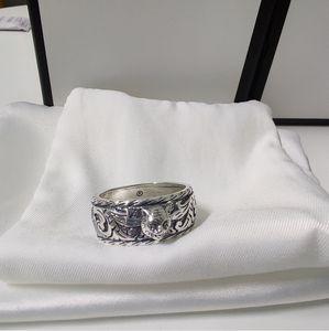 Самая последняя конструкция головы тигра 925 серебряное кольцо пара личности ретро кольцо лучшее продавая кольцо поставки ювелирных изделий