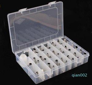 Украшения торта советы наборы 42 шт нержавеющей стали Обледенение Piping Совет Насадки с Plastic Box и ответвитель SN1491