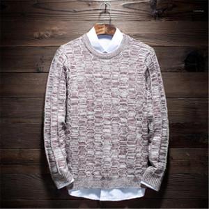 Triko Moda İnce Casual Uzun Kollu Sweatshirt Tasarımcı Yeni Erkek Yaka Boyun Gevşek Genç Sıcak Zeminleme Gömlek Man Harbour Trend