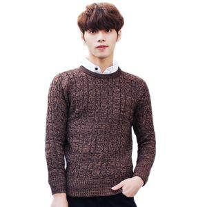 JoursNeige gestrickte Pullover 2020 neue Art und Weise O Ansatz Jugend Twisting gestrickte Pullover Männer Pullover und Pullover Teenager