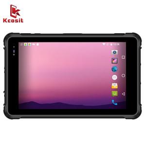 2020 Çin Sağlam Tablet PC Android 9.0 Smartphone IP67 Su Geçirmez 8 inç 4g RAM 64 GB ROM 4G LTE 2D Barkod Tarayıcı UHF RFID