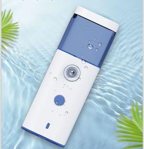 Tragbare Mini Face Sprühflasche Nano Herr Bart Steamer USB aufladbare Gesicht Sprayer Kalte Schönheit Feuchtigkeitsspendende Hautpflege Accessoires DHA1241