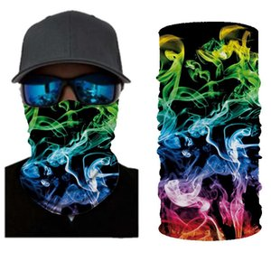 25# Summer Outdoor Riding Neck Protection Mouth ScarvesFace Shiled Sunscreen Motorcycle Earmuffs Head Mouth Cover Harajuku