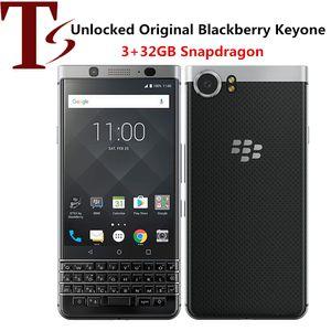 Recuperado Original Blackberry Keyone 4,5 polegadas Octa Núcleo 3GB RAM 32GB ROM 12MP Câmera Desbloqueado 4G LTE inteligente Android Phone