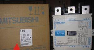 Yeni KUTU Mitsubishi AC Kontaktör S-N150 110V # OH019