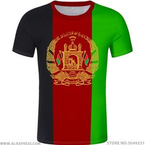 AFGHAN T-Shirts freier benutzerdefinierter Name Nummer afg Slam afghanistan araber T-Shirt persisch pashto islamischer Druck Text Foto Flag AF Kleidung 0924