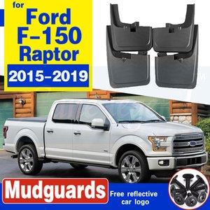 Ford Raptor F150 F150 için Araç paçalık Fender Çamur Muhafız Flap Splash Klapeleri Çamurluk Aksesuarları 2016 2017 2018 ~ 2019 2015 F 150