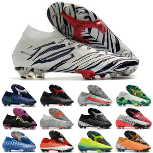 2021 Chuteiras Mercurial Superfly 360 VII 7 Elite FG Soccer Shoes CR7 SE NEIMAR MENS Mulheres Meninos Crianças Futebol Botas de Futebol Cleats US3-11