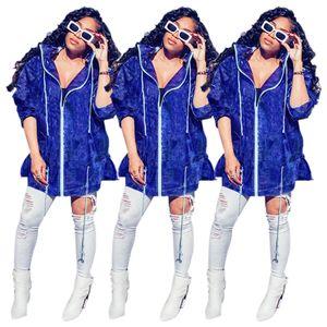 Мода Плащи Женщины моды Vintage куртки с капюшоном Повседневная ВЕТРОЗАЩИТНЫЕ куртки ветровки 2020 2021 Новое прибытие куртки