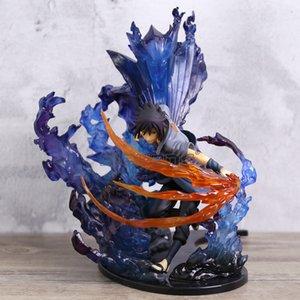 Naruto Shippuden Uchiha Sasuke / Uchiha Itachi Susanoo Kizuna Relation Statue PVC Figure Toy Collection Model MX200811
