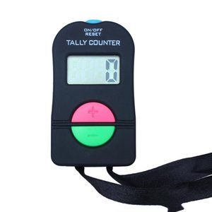 New Hand Held Electronic Digital Tally Counter Clicker Security Sports Gym School High Quality BLACK COLOR AHD932