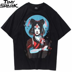 2020 T Shirt Ancient Girl Chinese Knot Print Men Hip Hop T-Shirts Harajuku Streetwear Summer Tshirt Short Sleeve Cotton Tops Tee 0921