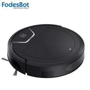 FodesBot X750S dark ninja robot vacuum cleaner APP wifi control sweep wet mop carpet large dustbin