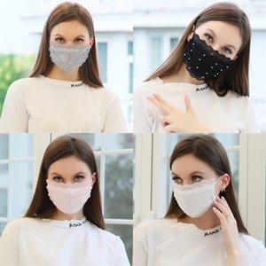 Unisex Solid Cotton Cartoon Teeth Mouth Face Windproof Warm Mask Fashion Cute Anti-Dust Print Black Half Masks#515#139 Breathable Spmsm