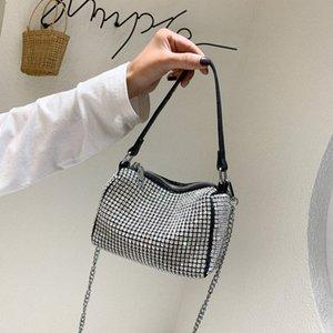 Rosa Sugao 2020 neue Art und Weise Handtaschen-Frauen-Schulter-Beutel Drei Stile Taschen Bucket Bag Waist Taschen Kissen Taschen mit Diamant-Dame-Geldbeutel BH TVpj #