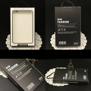 Big Size Fashion Original Paper Retail Package Box With PVC Window For Iphone 11 8 7 Cover Shell Samsung Leather Case Display Box