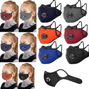 Nouveau Cyclisme visage Masques de protection enfants Sports de plein air sport masque masquer vélo à vélo charbon actif masques Masques Designer DHA775