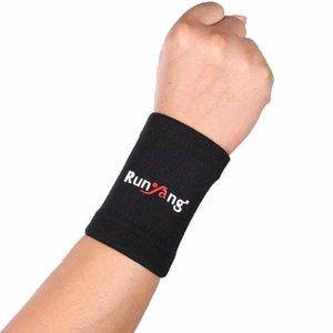 2рс Wrist Sleeve Профессиональные эластичные спортивные безопасности запястье поддержки Brace Марка Wristband Мужчины Gym Wrestle Профессиональный спорт
