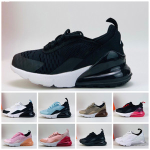 Nike Air Max 270 27C New 2019 Big Boy Schuhe Kinder Herren Basketballschuhe 11s Blackout Win Like 96 UNC Win Like Heiress Schwarz Stingray Kinder Sneaker