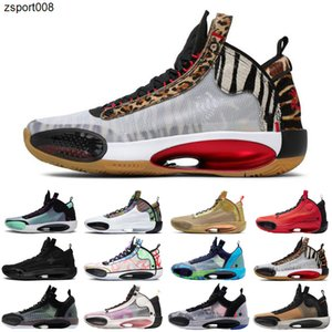 01Jayson Tatum Nike air jordan retro 34 Welcome to the Zoo jumpman 34s men basketball shoes Blue Void Zoo Noah Bayou Boys Black Cat nfrared 23 ASG sneakers