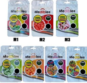 Runtz Bag Borse Connected Ragazzi Zipper Mylar Gummy Packaging Medibles Blu Edibles Lol Jungle Candy Hot Cookies home2010 MIiDt