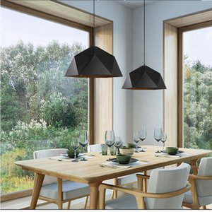 Principali moderne luci a sospensione Apparecchio con Ferro paralume Per Diningroom Cafe Bar Restaurant Nordic Hanging Lamp Luster Luminaire