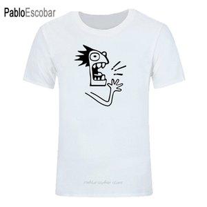 Marka Tişörtlü Erkekler Shubuzhi Yeni Moda Klip El Etter Baskılı Moda Yuvarlak Yaka Tişörtler Erkekler Kısa Kollu T-Shirt